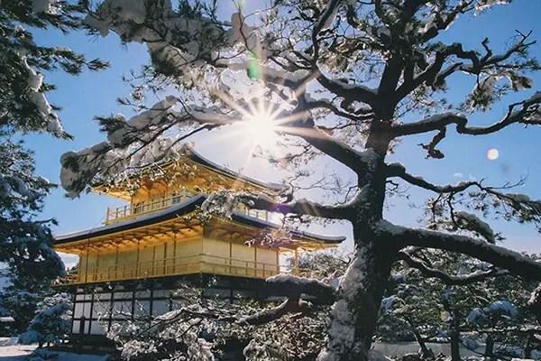 Kyoto in de sneeuw - 8