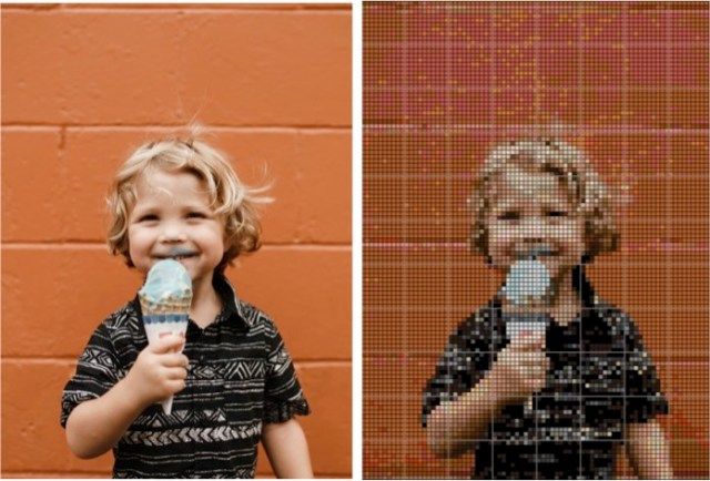 kind borduur (zonder kleur)