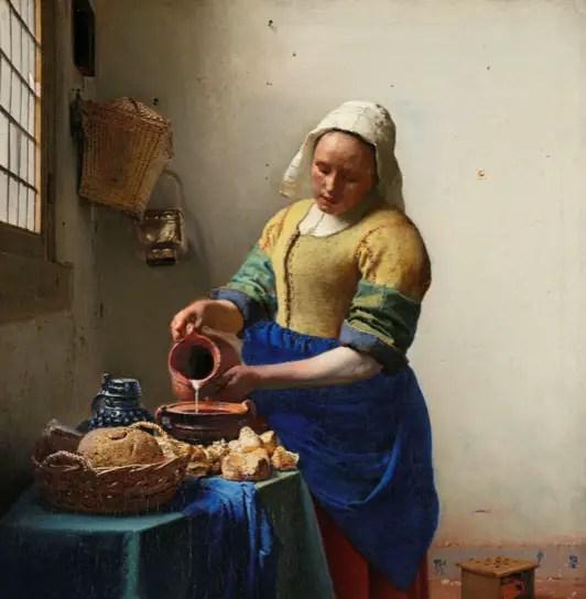 Melkmeisje Vermeer