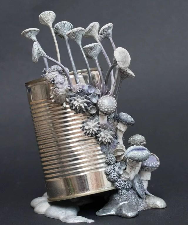 Kunstenares Stephanie Kilgast afval 6