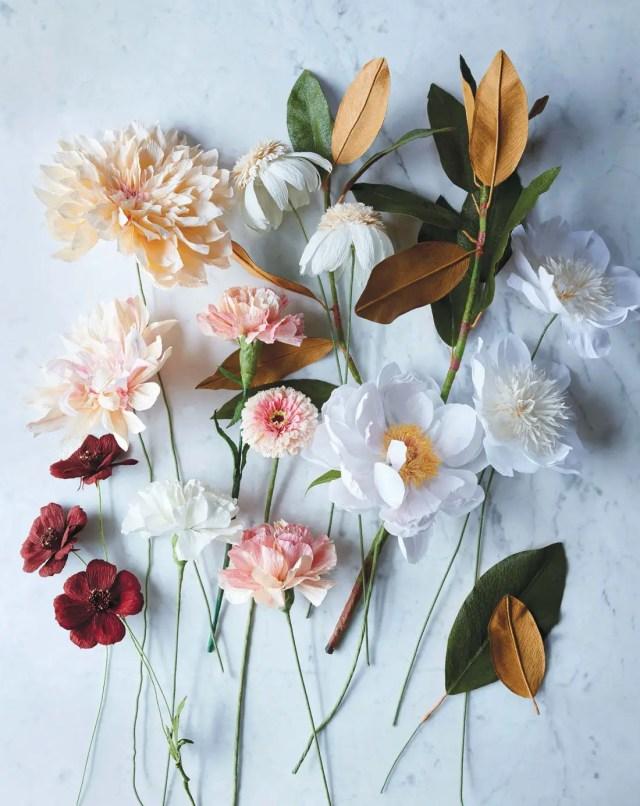 bloemen maken van papier 4
