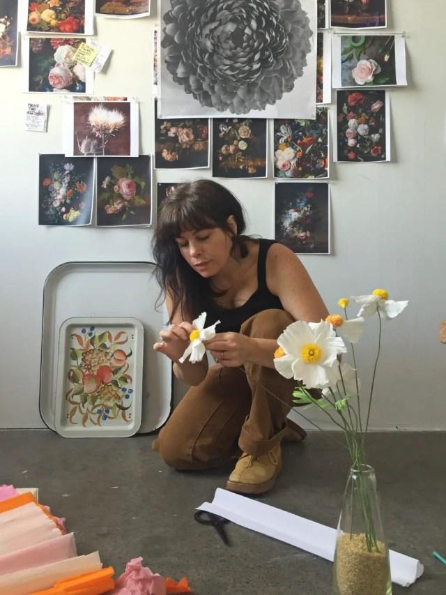 bloemen maken van papier 6