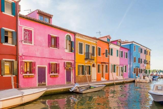 kleurrijk Burano huizen 1.1