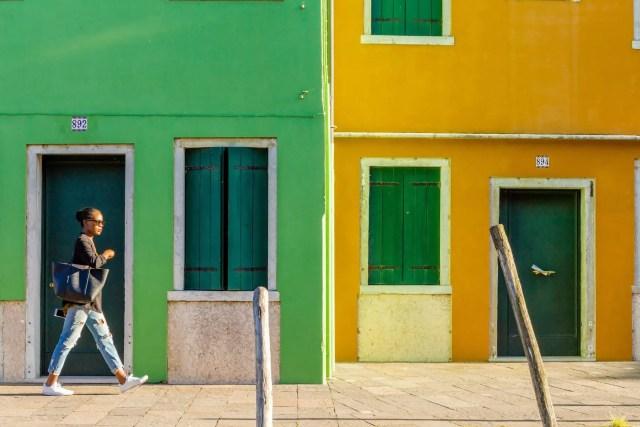 kleurrijk Burano huizen 10