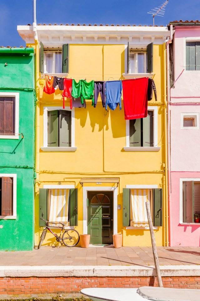 kleurrijk Burano huizen 8