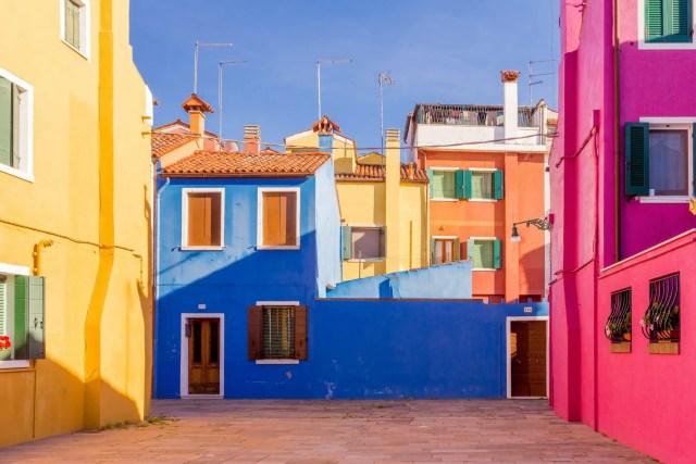 kleurrijk Burano huizen 9.1