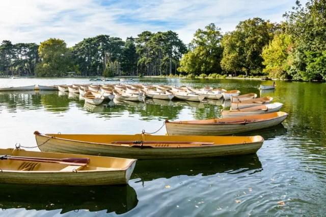 Bootjes bij Bois du Boulogne | Beeld: 123f