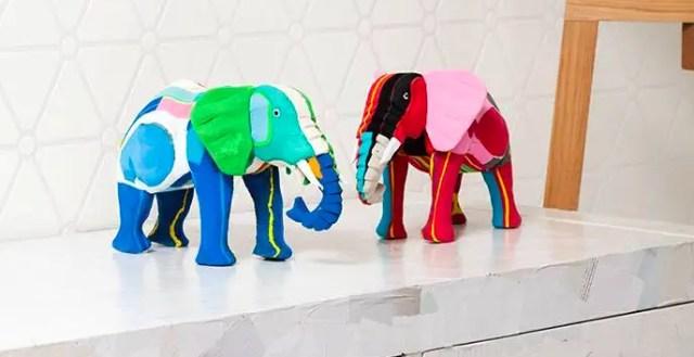 In Kenia maken ze kunst van afval uit de oceaan
