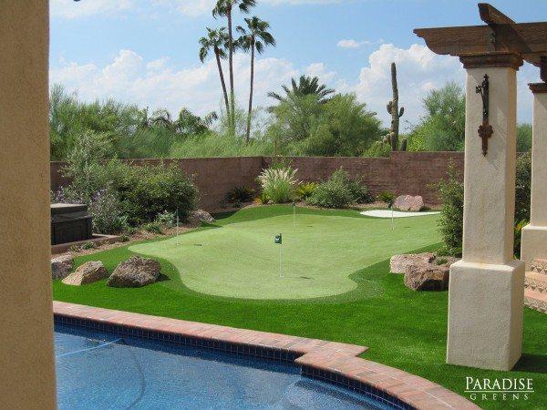 Custom Putting Green Company in Scottsdale, Arizona on Putting Green Ideas For Backyard id=59954