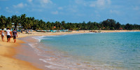 Sri Lanka possess some of the most beautiful beaches in the world. Enjoy the Golden sand, turquoise water and the warm sun around the coast