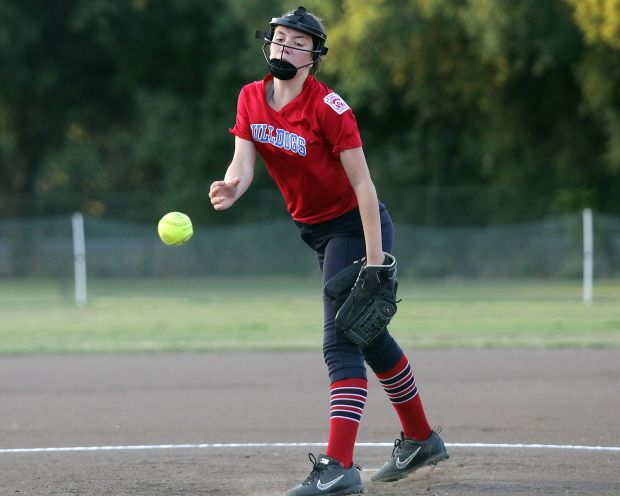 Paradise pitcher Nyah Baker pitched a complete game against Lake Oroville Friday night
