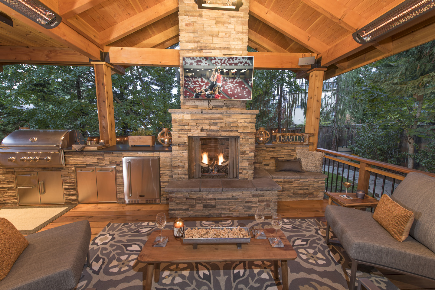 20 Gazebos in Outdoor Living Spaces - Paradise Restored ... on Outdoor Living Patio id=19595