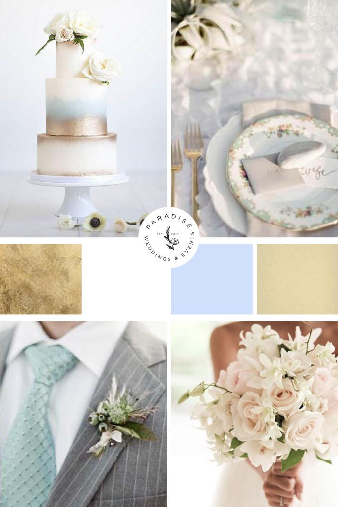 color palette for wedding