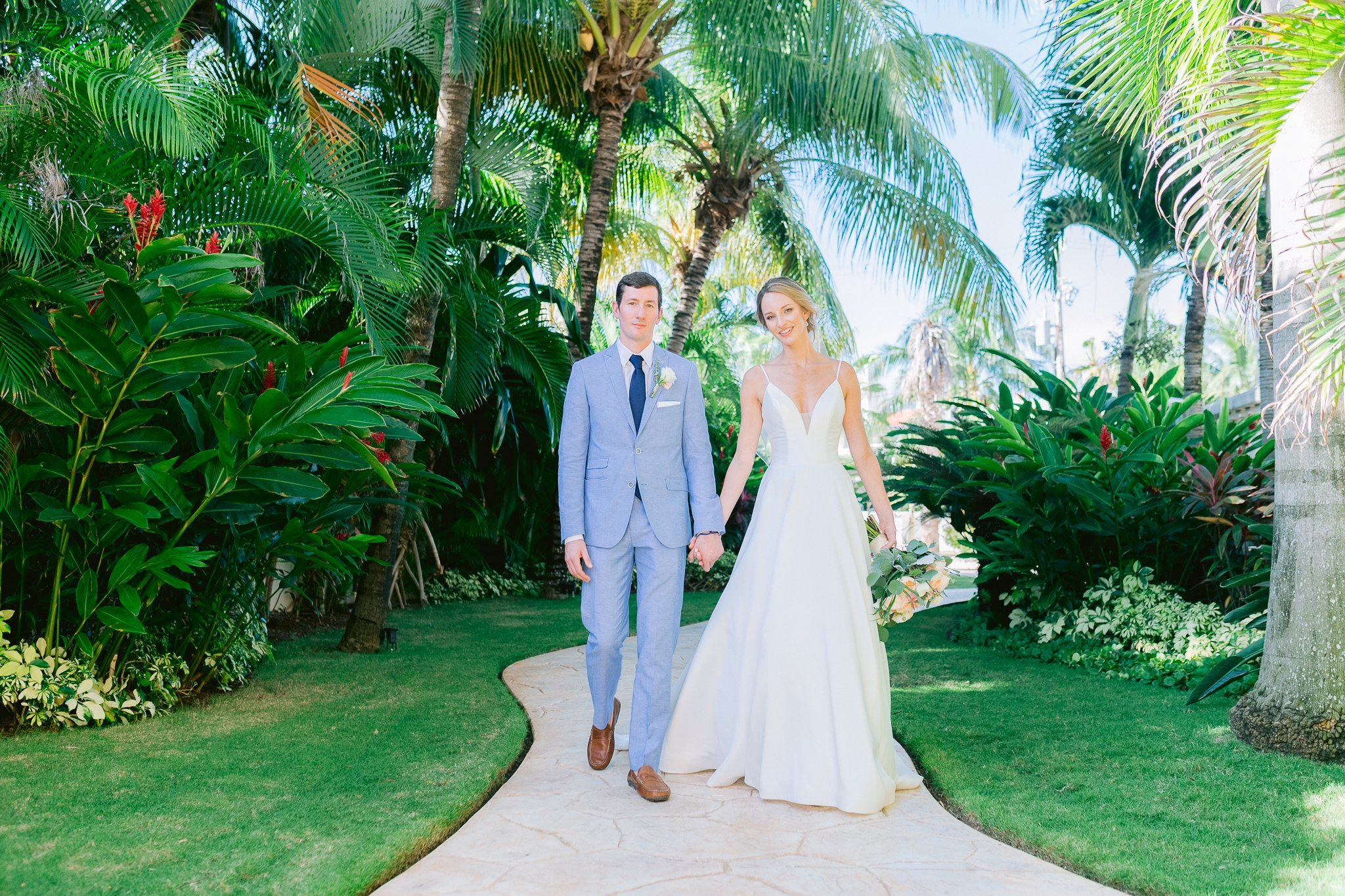 dusty blue and white wedding