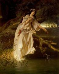 Ferdinand Piloty II - Ophelia . Royal Shakespeare Company Collection; Supplied by The Public Catalogue Foundation