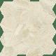Sunlight Stone Beige Mozaika Prasowana Hexagon