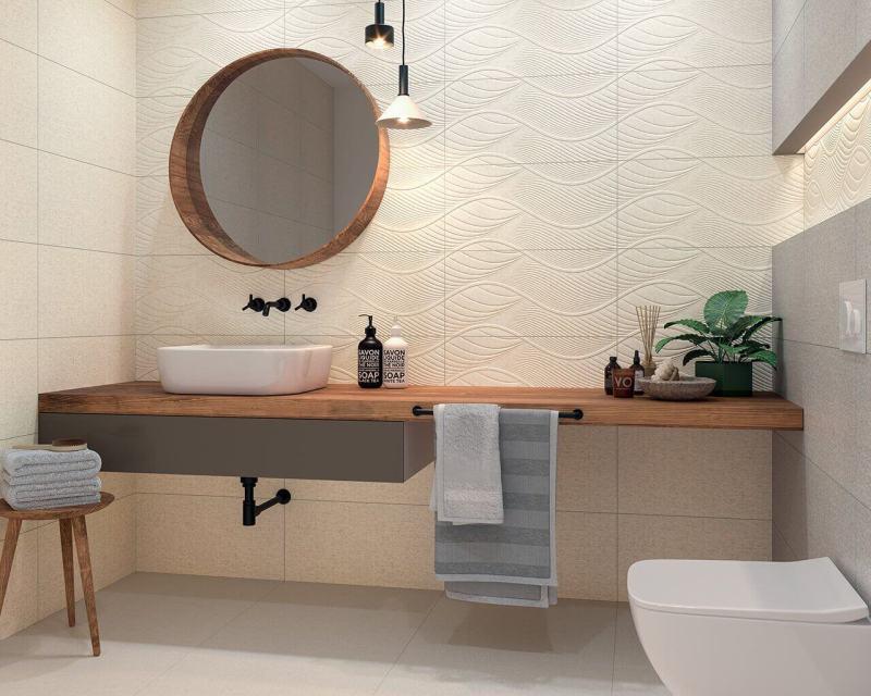 Uniwersalna I Harmonijna Jak Zaaranżować łazienkę Która