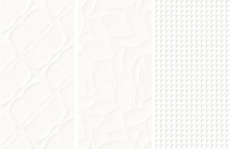 Płytki Esten Bianco Struktura, Ceramika Paradyż.