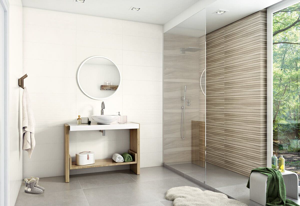 Walk-in, a shower cubicle without a shower tray - Paradyz blog ...