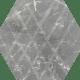 Marvelstone Light Grey Heksagon Gres Szkl. Mat.