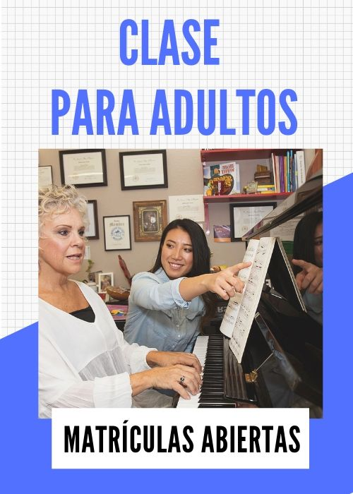 Clase de música para adultos
