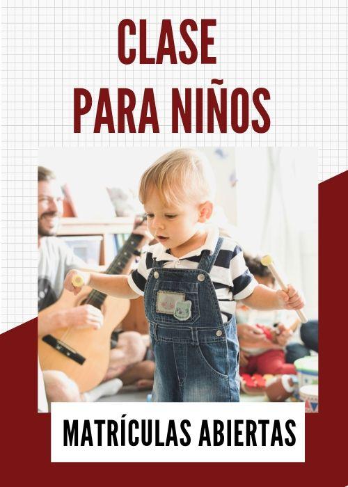 clases de música para niños para elisa murcia