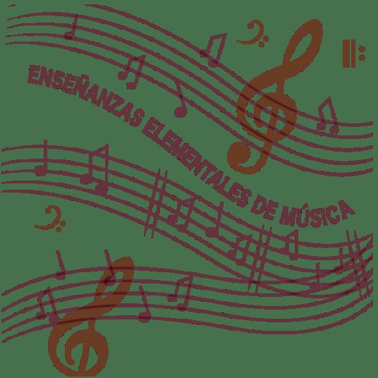 Notas musicais Grado Elemental de música