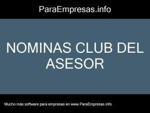 nominas club del asesor