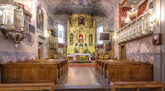 Zobacz wirtualny spacer po naszym kościele