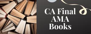 CA Final AMA Books Old Course