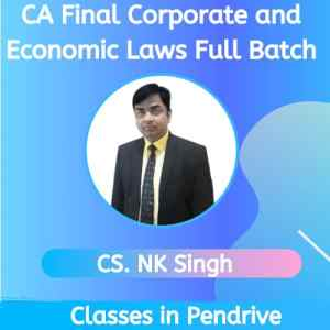 CA Final Corporate and Economic Law