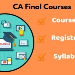 CA Final Courses
