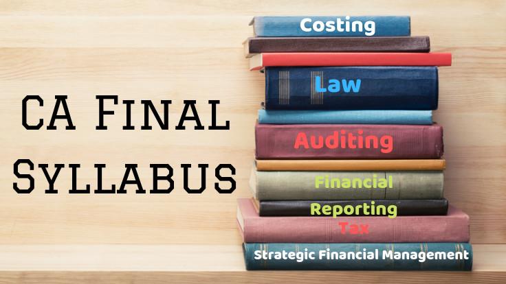 CA Final Syllabus