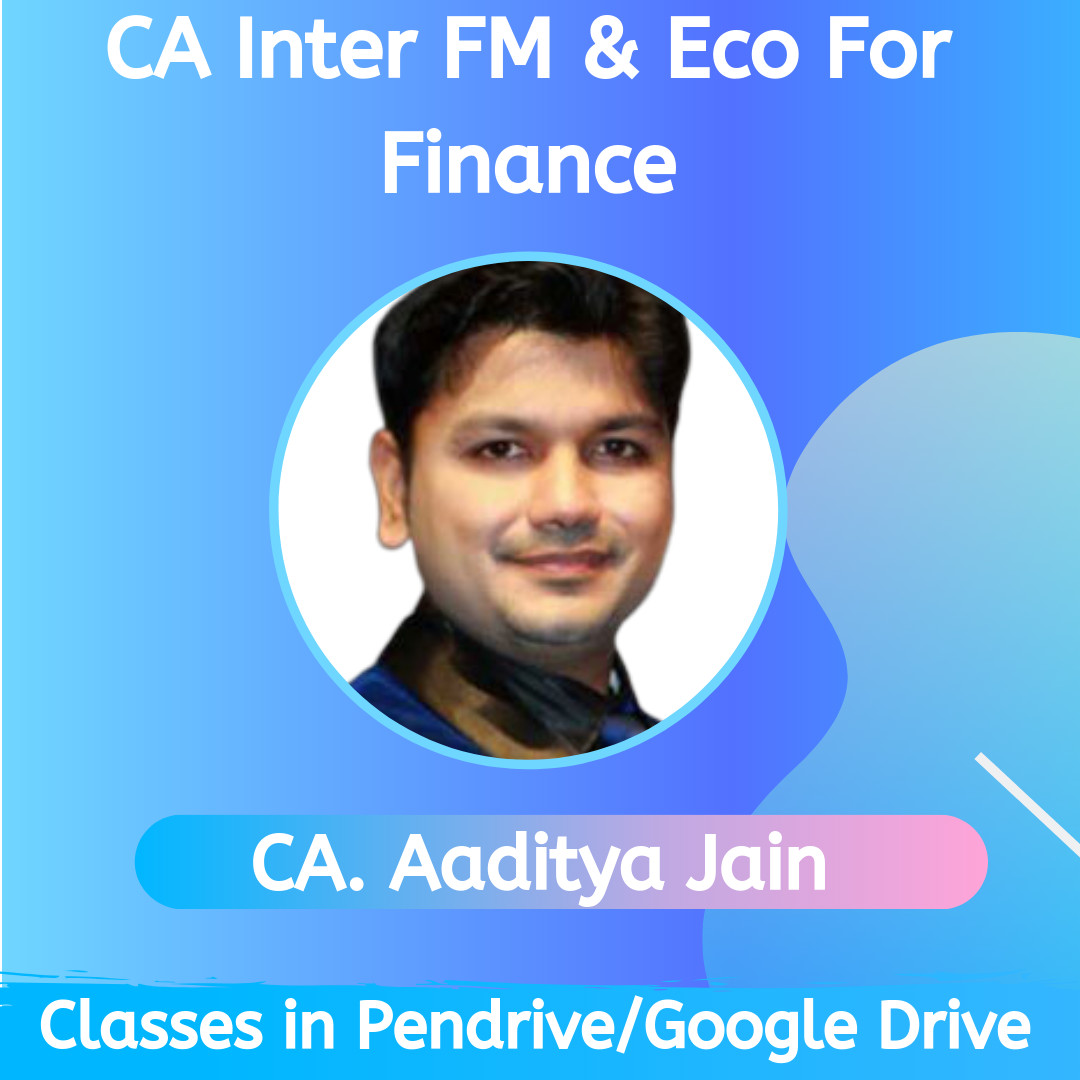CA Inter FM & Eco For Finance