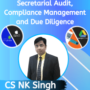 CS Professional- Secretarial Audit, Compliance Management and Due Diligence