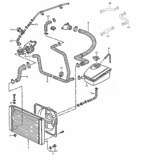 2005 Mazda Mpv Radiator Diagram