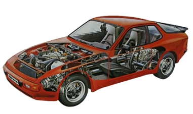 Image result for porsche 944 parts