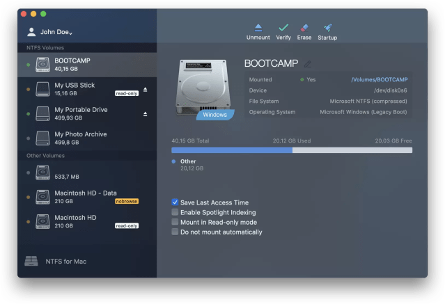 Microsoft NTFS for Mac  Paragon Software