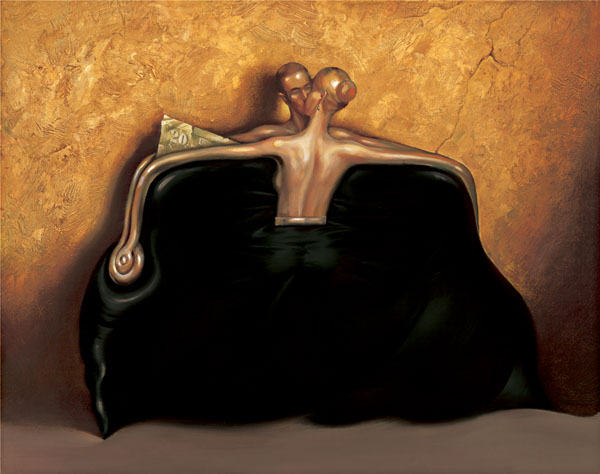 THE PURSE (BLACK PURSE)<br />