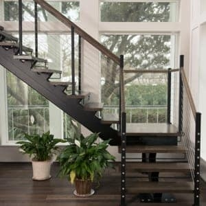 Compact Stairs For Small Spaces Paragon Stairs | Stair Plans For Small Spaces | Residential | Simple | Backyard Cottage | Fine Homebuilding | Small Opening