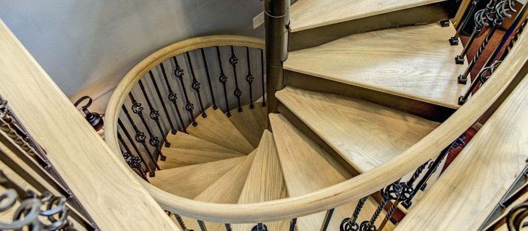 Spiral Staircases Prefab Custom Designs Paragon Stairs | Outdoor Stair Contractors Near Me | Wood | Stair Railing | Metal | Trex | Spiral Staircase
