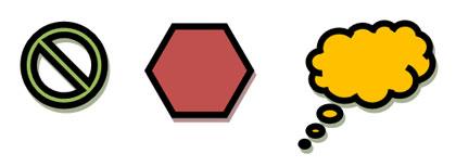 simbolos geométricos