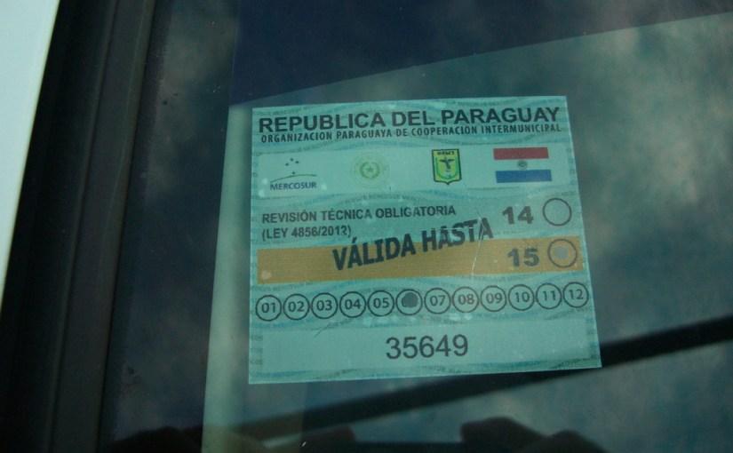 ITV (TÜV in Paraguay)