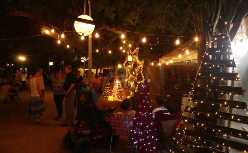 Weihnachtsmarkt in Loma Plata