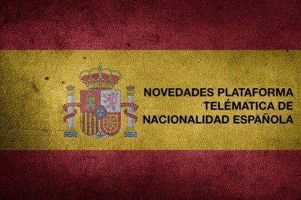 PRESENTAR LA NACIONALIDAD ESPAÑOLA POR INTERNET
