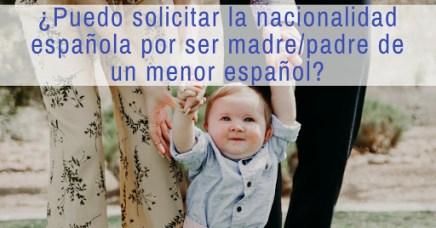Nacionalidad para padres de español