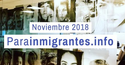 Noticias Destacadas Parainmigrantes: Noviembre 2018