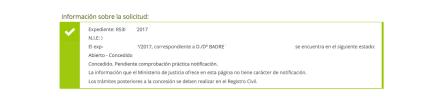 Nuevas concesiones de nacionalidad en Febrero: resolución badre