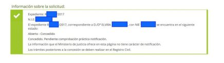 Concesiones de Nacionalidad Española Elvira