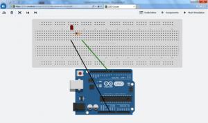 Arduino adicionado ao circuito
